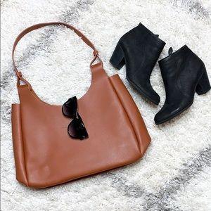 Neiman Marcus Brown Leather Handbag Brown Bag